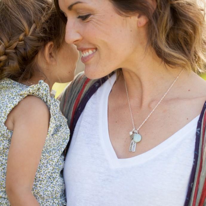 Cross My Heart Necklace Sterling Silver By Lisa Leonard