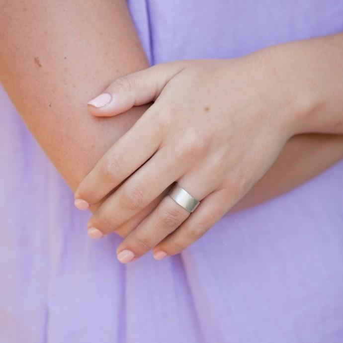 how to clean lisa leonard rings