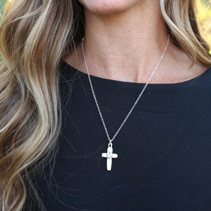 Cross Of Faith Necklace By Lisa Leonard Designs