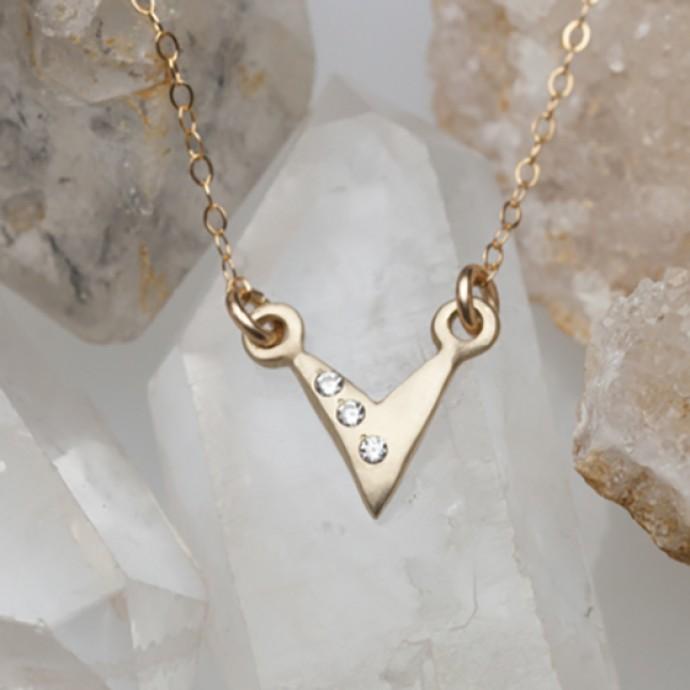 Forging Ahead Necklace 10k Gold By Lisa Leonard Designs