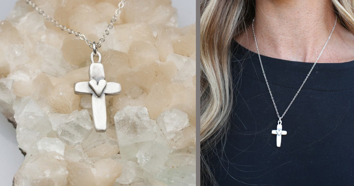 Cross Of Faith Necklace Sterling Silver By Lisa Leonard