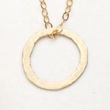 Togetherness Necklace {10K Gold}