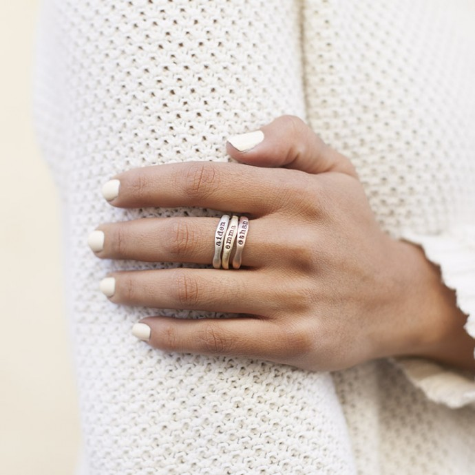 stella more stacked for dot rings delicate and layering stacking