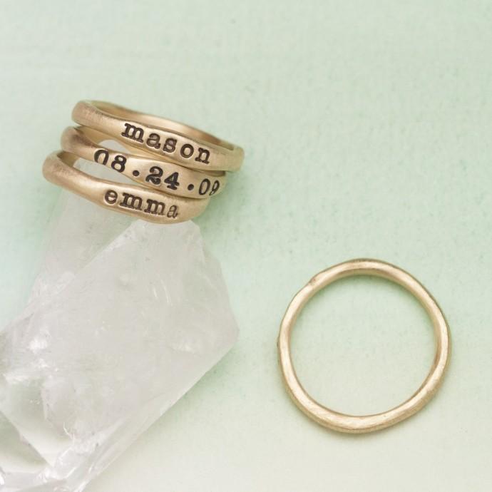 Gold Stacking Rings 14k Gold By Lisa Leonard Designs