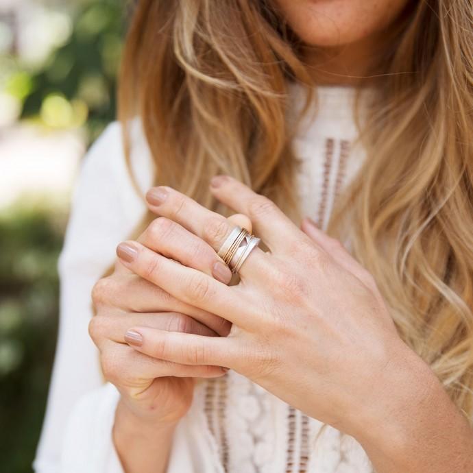 Brave Love Spinner Ring By Lisa Leonard Designs