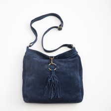 strong and brave crossbody {midnight blue}