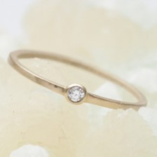 Finespun Birthstone Ring {10K Gold}