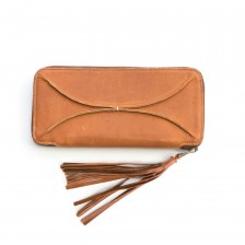 you are beautiful pocketbook {honey brown}