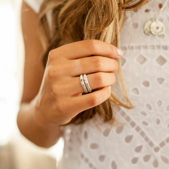 Personalized Passage Ring By Lisa Leonard Designs