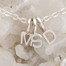 My Tribe Initials Necklace {Sterling Silver}