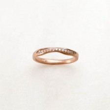 Passage Ring {10K Rose Gold}