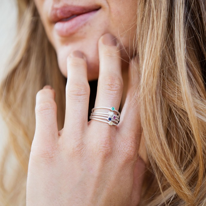 Surrounded By Love Bundle Ring By Lisa Leonard Designs