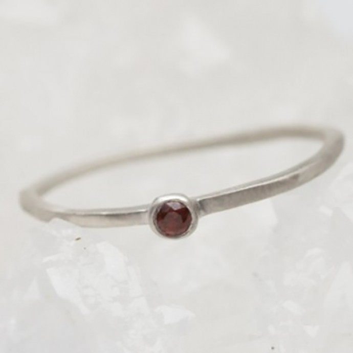 Finespun Birthstone Ring Sterling Silver By Lisa Leonard