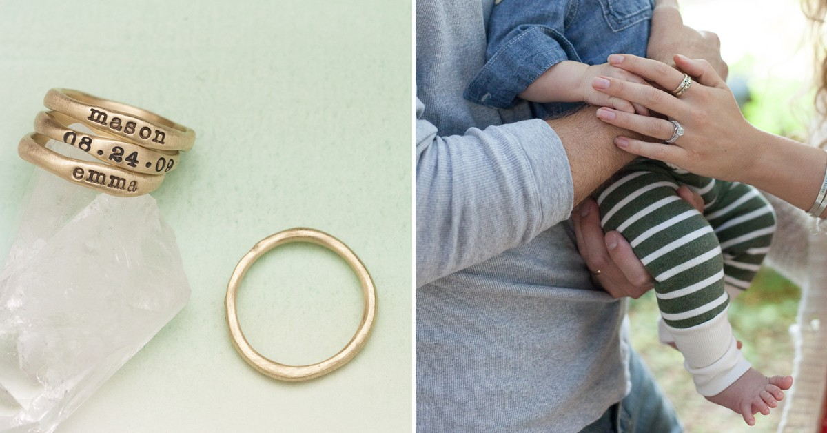 Gold Stacking Rings By Lisa Leonard Designs