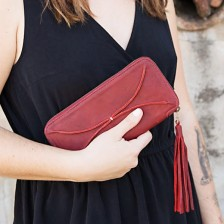 you are beautiful pocketbook {deep ruby}