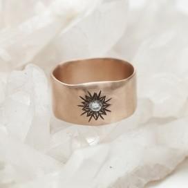 Sunburst Diamond Rings By Lisa Leonard