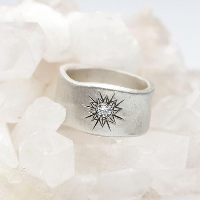 Sunburst Diamond Ring By Lisa Leonard Designs