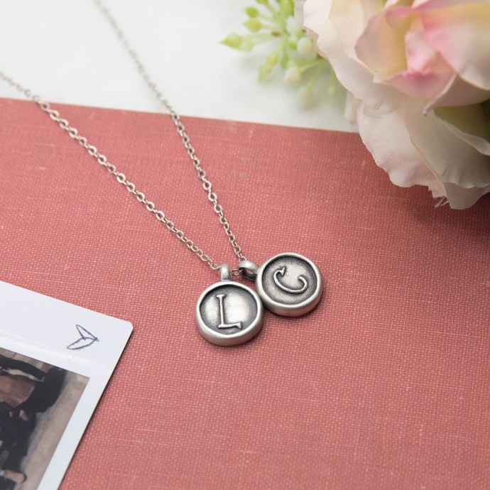 North Star Initial Necklace By Lisa Leonard Designs