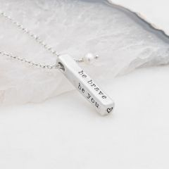 What Matters Most Necklace {Sterling Silver}
