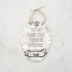 Prayer Plaque {Pewter}
