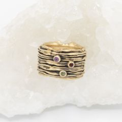 Brave Love® Birthstone Ring {10k Gold}