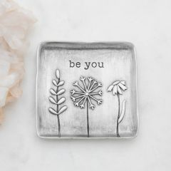 Be You Keepsake Dish {Pewter}