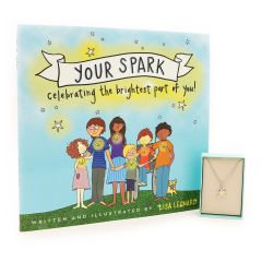 Your Spark Gift Set - Book and Kids Necklace