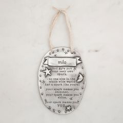 Your Spark Plaque {Pewter}