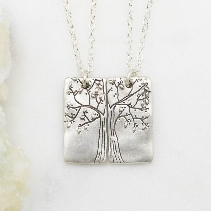 Rooted In Love Necklace Set {Sterling Silver}