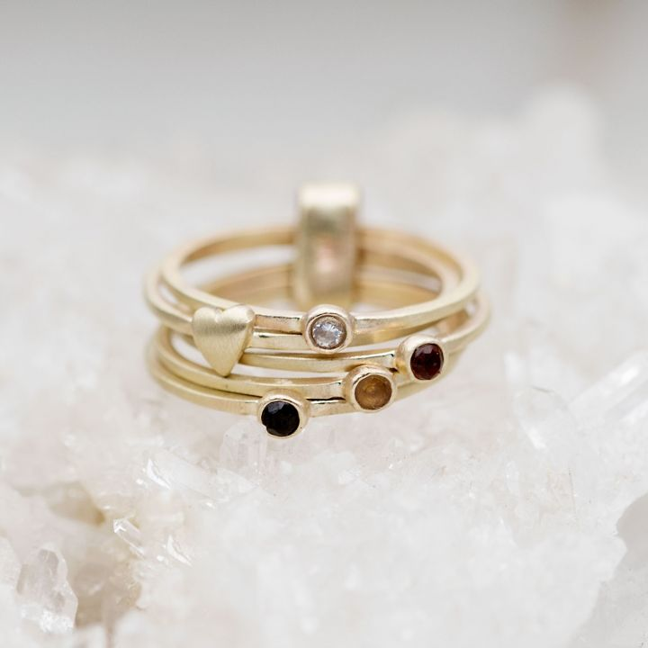 Surrounded by Love Bundle Ring {10k Gold}