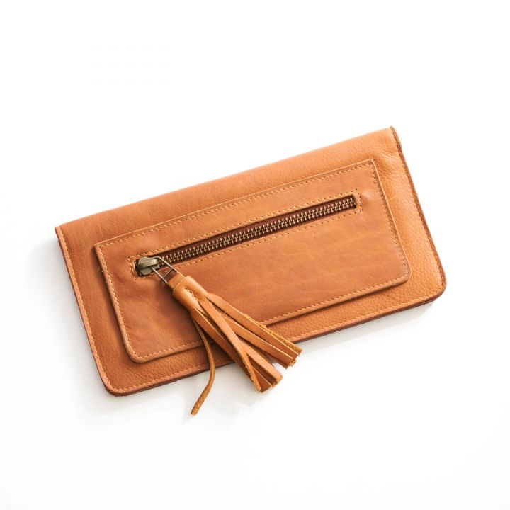 we have love wallet {honey brown}