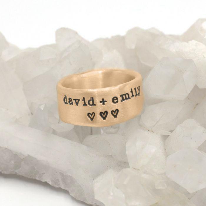 Band Together Ring {10k Gold}