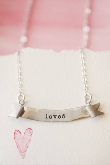 Banner Necklace {Sterling Silver}