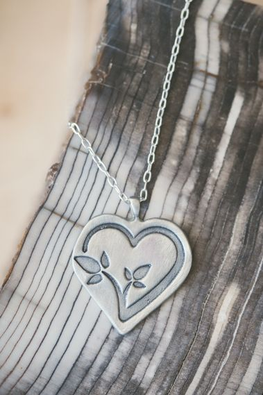Cdls Necklace {Pewter}