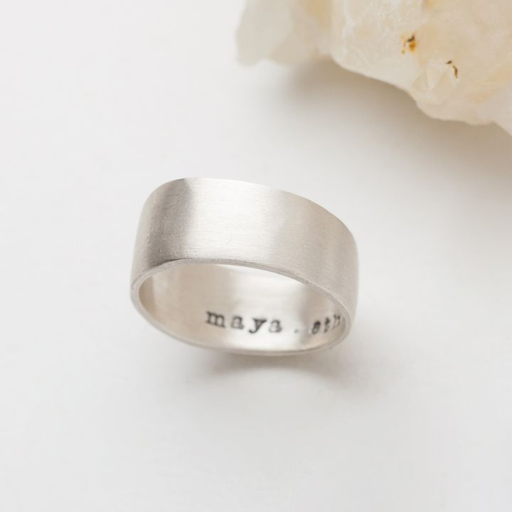 Keep Them Close Ring {Sterling Silver}