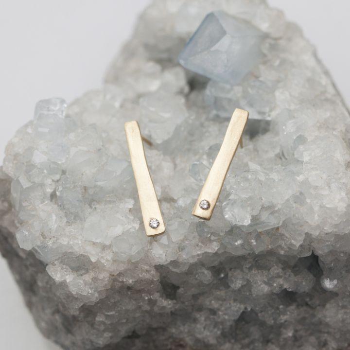 Lineage Stud Earrings {10K Gold}