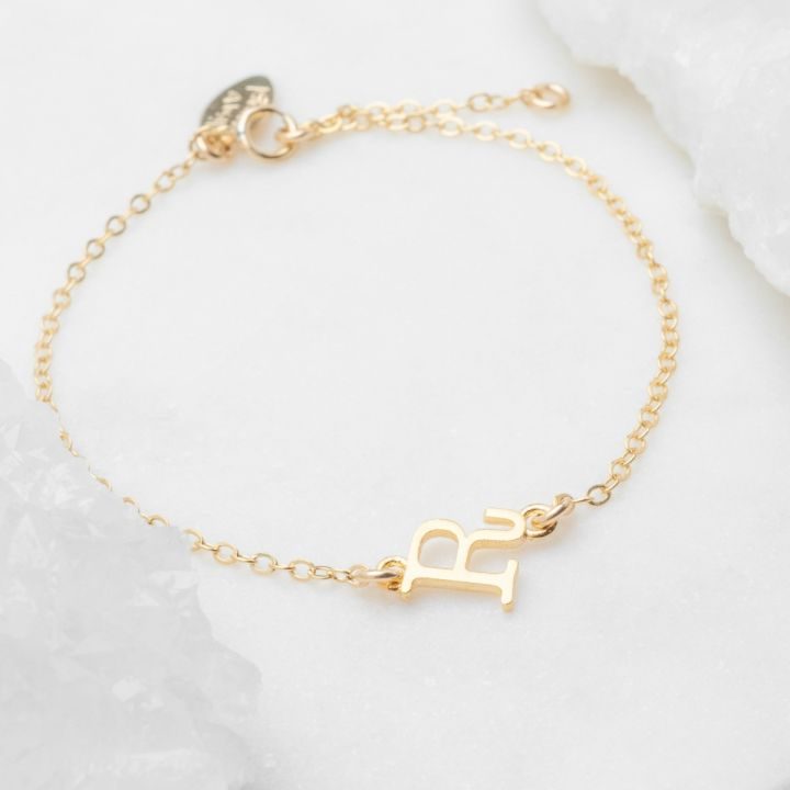 My Monogram Bracelet {10k Gold}