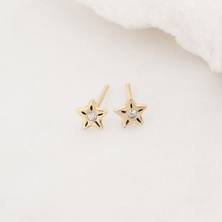 Your Spark Earrings {10k Gold}