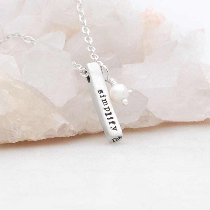 Word of the Year Necklace {Sterling Silver}