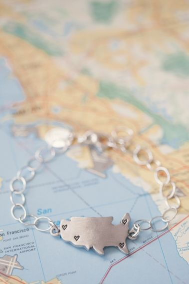 State Of My Heart Bracelet {Sterling Silver}