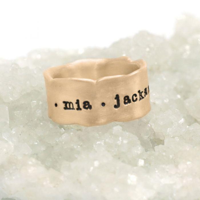 Very Fine Line Ring {10k Gold}