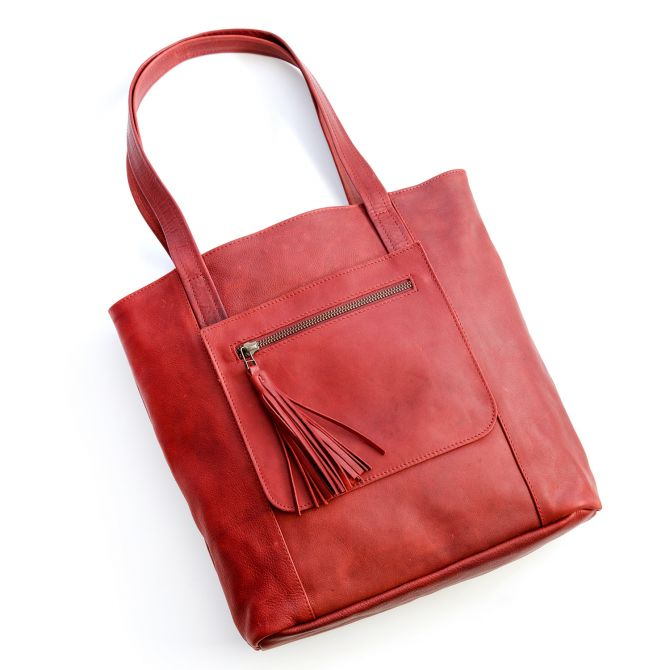 we have love tote {deep ruby}