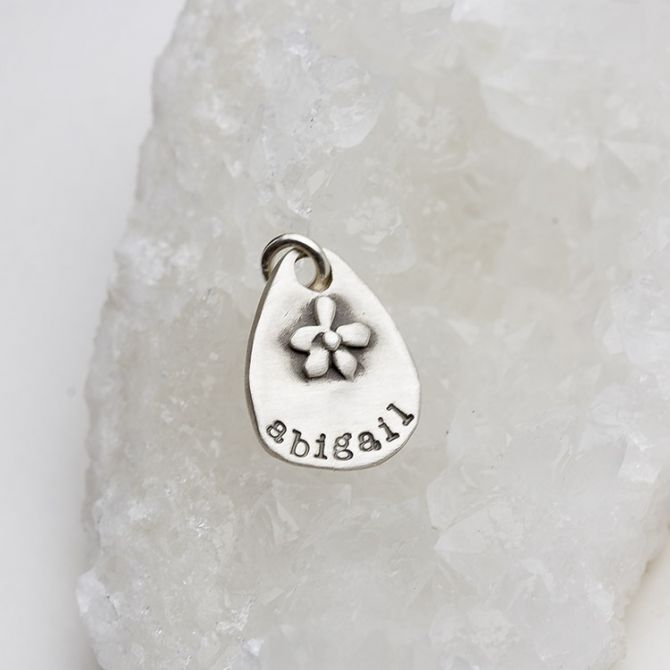 Flower Patch Charm {Sterling Silver}
