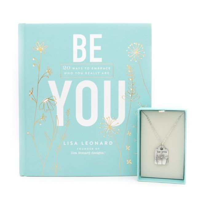 Be You Book and Necklace Gift Set