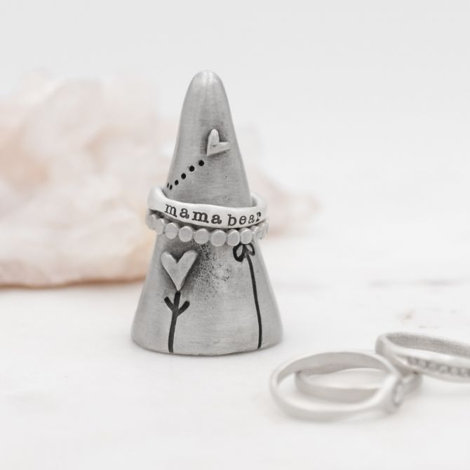 Love Is Everywhere Ring Holder {Pewter}