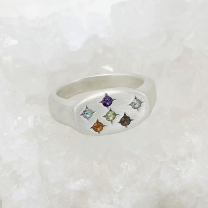 Constellation Ring {Sterling Silver}