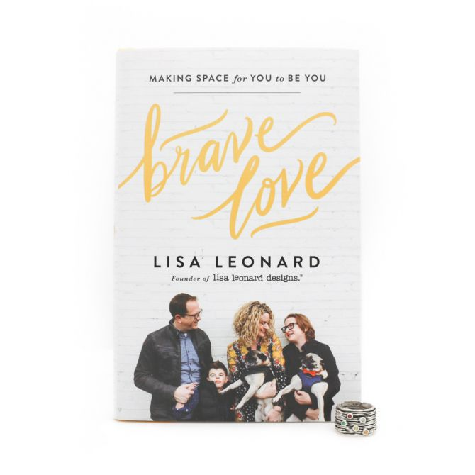 Brave Love Gift Set - Book and Brave Love Birthstone Ring