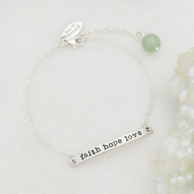 Carry My Heart Bracelet {Sterling Silver}