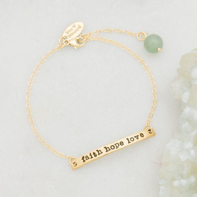 Carry My Heart Bracelet {10K Gold}