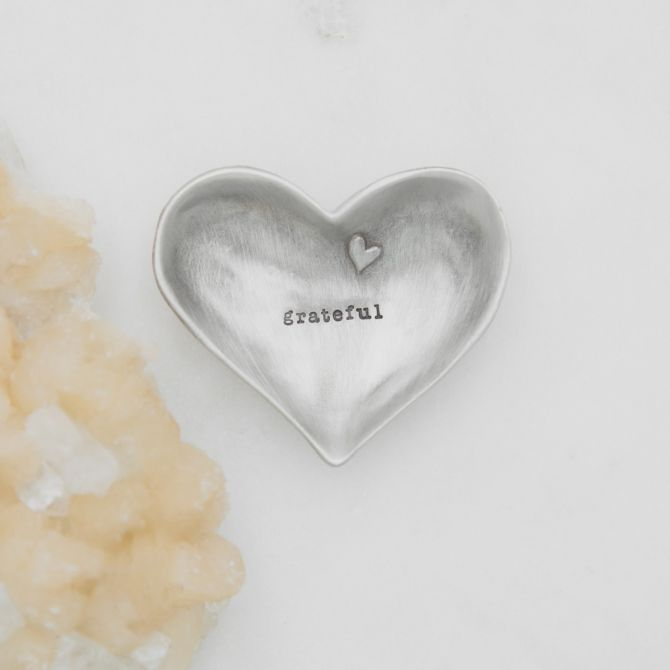 Grateful Heart Keepsake Dish {Pewter}
